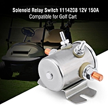 Continuous Duty Solenoid Relay Switch 12V 150A for Golf Cart 1114208 1114218 67-702