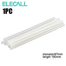 Transparent Melt Glue Stick 7MM Diameter 190MM Length - Transparent Color