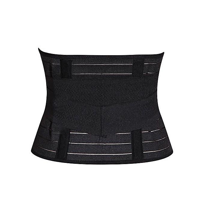 Black Slimming Belt,Waist Trainer.