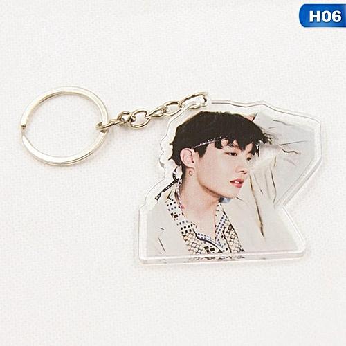 1 Pcs Kpop BTS WINGS Album Bangtan Boys Key Chain Personalized Key Ring  Pendant
