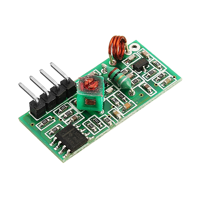 5Pcs 433Mhz Wireless RF Transmitter and Receiver Kit For Arduino MCU