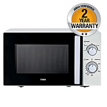 MMW2011/W - Microwave, 20L, Manual - White & Black
