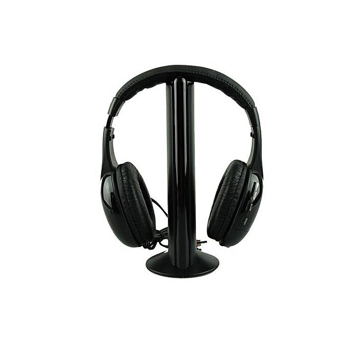 Generic 5in1 Wireless Headphone Casque Audio Sans Fil Ecouteur Hi Fi
