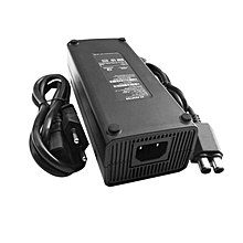 TA AC 100-240V Adapter Power Supply Charger Cable For X-BOX 360 Slim EU Plug -black
