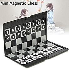 Mini Magnetic Wallet Folding Chess Set Wallet Pocket Board Games for Travel