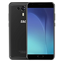 THL Knight 1 4G Phablet 5.5 inch Android 7.0 MTK6750T 1.5GHz Octa Core 3GB RAM 32GB ROM 13.0MP + 2.0MP Dual Rear Cameras Fingerprint Scanner HotKnot BLACK 3GB RAM 32GB ROM