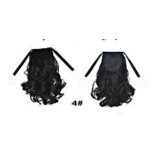 New Fashion wig ponytail female short roll ponytail short hair-multi4