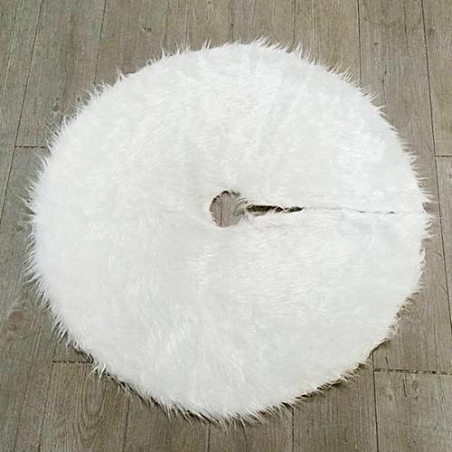 Buy Allwin Christmas Tree Plush Skirt Snow White Faux Fur Christmas