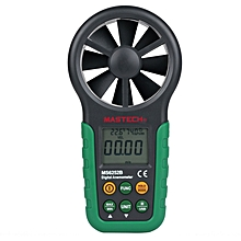 MASTECH MS6252B Digital Anemometer Wind Speed Meter Air Volume Ambient Temperature Humidity Tester