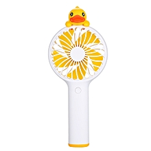 Portable Mini Cute B.Duck F1 2-in-1 Chargable Fan 3-Level Adjustable USB 5000mAh Power Bank
