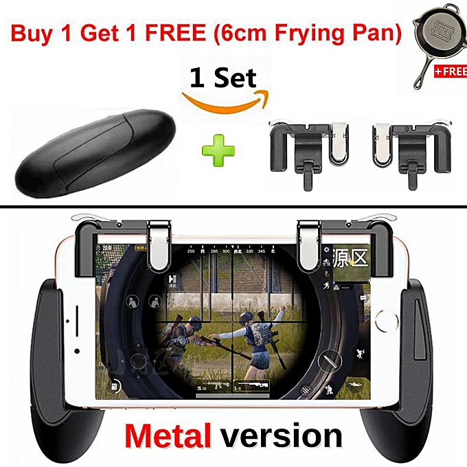 1 Set Best Upgrade Gamepad Button PUBG 3nd Generation Mini Mobile Game  Joystick Shooting Game Physical Touch Controller Raise Shooting Rate Fire  MLLQJ