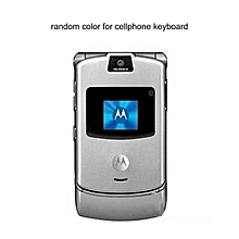 GB V3i 2.2 Inch LCD Screen  Flip Phone for Motorola GSM Mobile-silver