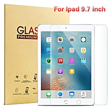 iPad Tempered Glass Screen Protector for New 2018 2017 iPad 9.7 inch/iPad Pro 9.7/iPad Air 2/iPad Air, High Definition Clear 9H Hardness Scratch Resistant Screen Protector CHD-Z