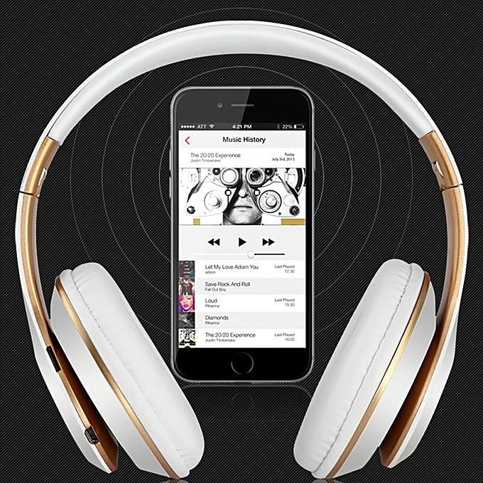 Generic 6s Folding Wireless Headphone Hifi Casque Audio Bluetooth