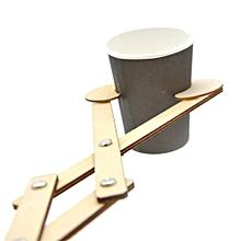 Reach Out Wooden Robot Arm Grabber Novelties Toys Scissor Flexible Funny Toy-