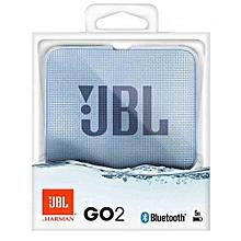 Go 2 Portable Bluetooth Waterproof Speaker-Cyan