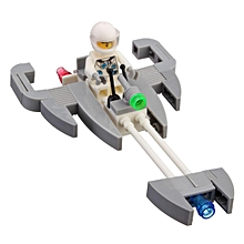 Miniature Starfighter Assembling Building Block Children Boy's Toy Gift Educational Bricks Toys