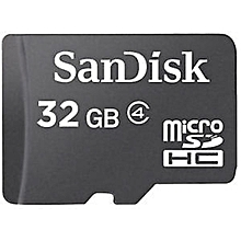 Sandisk Memory Card - 32GB - Black