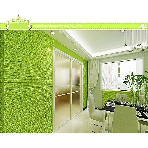 generic 3d brick wall sticker self-adhesive foam wallpaper panels