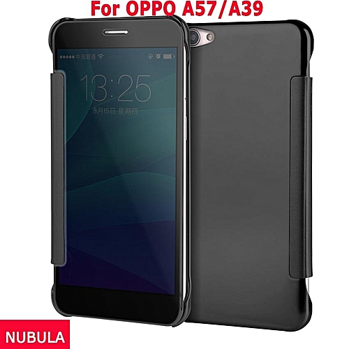 quality design 69a80 e9825 New Fashion 360 Degree Luxury Mirror Clamshell Hard Shell Flip Wallet Case  For OPPO A57 / for Oppo A39,Soft Leather Flip Wallet Smart View Mirror ...