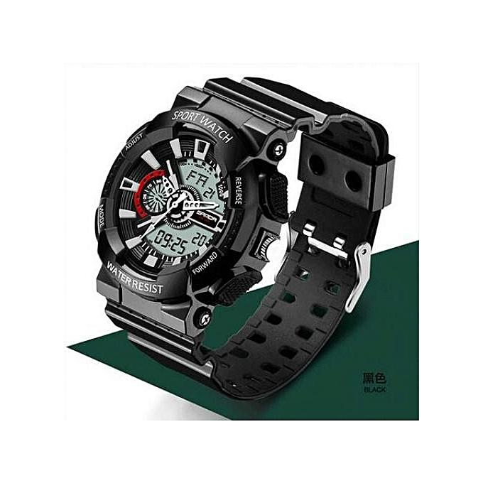 dc24351de538 SANDA Fashion Mens Watch Jam Tangan es Top Brand Luxury Sport Watch Jam  Tangan Men Waterproof