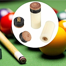 Billiards Replacement Parts 13mm 2x Pool Cue Stick Ferrules And 3x Screw-On Tips
