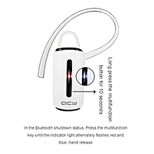 QCY J132 Wireless Bluetooth Headset Androids Smartphone - Windows Phone -MP3/MP4 Player Portable Musics Player  XUNDYD
