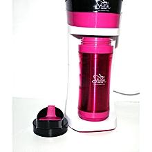 Coffee Maker - 0.5L - Pretty Pink *Free 30 gms Shiriki Lifestyle Blend Coffee*