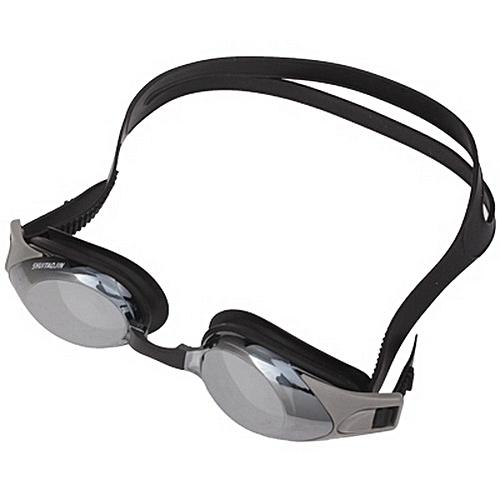 800 Degrees Myopia Professional Swimming Goggle With Ear Plug (dark Grey)