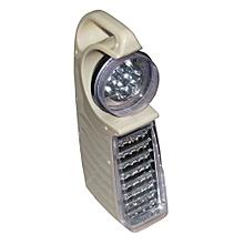 Rechargable Emergency Light - Cream