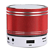 Portable Mini Wireless Stereo Bluetooth Speaker For Samgsung Tablet PC -Red