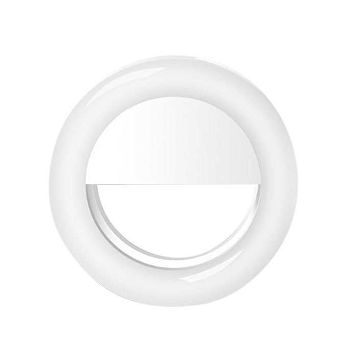 Generic Selfie Led Light Ring Flash Fill Clip Camera For I Phone