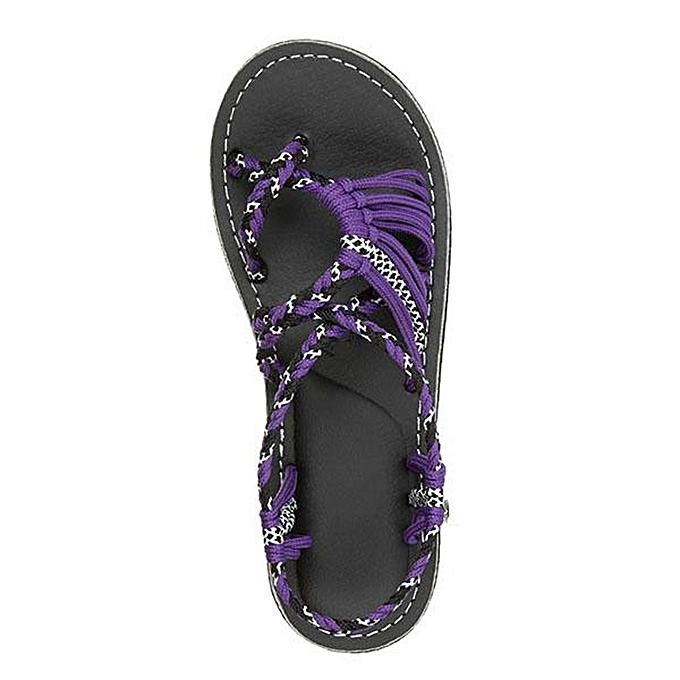 26cc5d5d7 ... ALEX most popular best rating lowest price Women Hemp Rope Flip Flops  Sandals Summer Fashion Roman