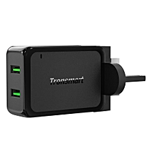 Tronsmart W2TF Quick Charge 3.0 36W Dual USB Port Wall Charger EBK-K