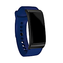 "F4 Smart Bracelet 0.96"" Color Screen Heart Rate Monitor Waterproof Sport Watch blue"