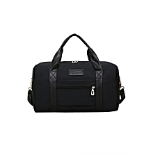 Men's Business Casual High Capacity Waterproof Travel Handbag BK
