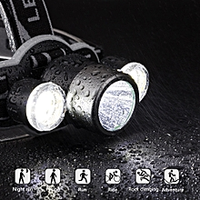 Koaisd Tactical Headlight XM-L Rechargeable T6 LED 5 Modes Headlamp