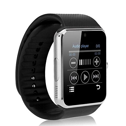 Smart Watch GT08 Clock Sync Notifier Supports SIM Card Bluetooth Connectivity IOS Android Phone Mp3 Music Player