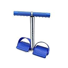 TUMMY TRIMMER_AB EXERCISE_SINGLE SPRING - BLUE