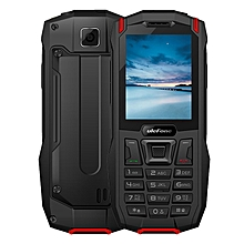 ARMOR MINI MTK6261D 2.4 Inch Screen IP68 Waterproof Dustproof Dropproof Dual SIM Mobile Bar Phone with Camera FM Bluetooth Red