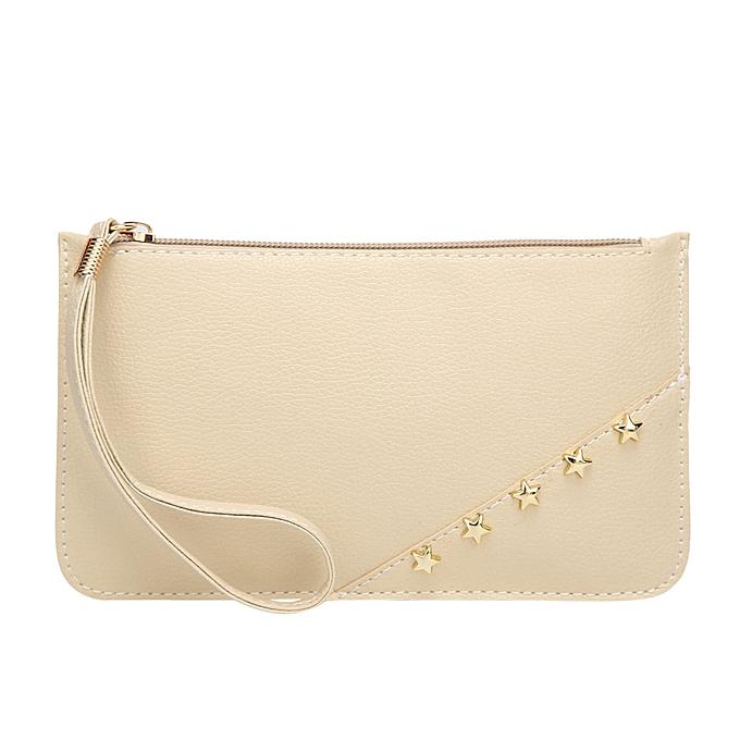 1d11fbc5f4fb Tectores Fashion Women Pure color Leather Handbag Messenger Bags Coin Bag  Phone Bag