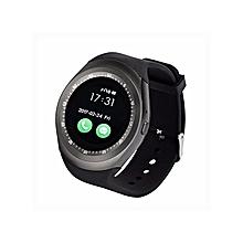 Y1 Sporty Smart Phone Touchscreen Watch - Black