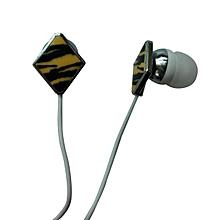 Keenion KDM-E200 In-ear Earphones 3.5mm Plug Black Yellow 【Yellow】