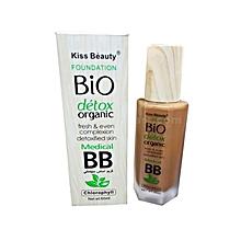 Bio Detox Organic Foundation - 60ml