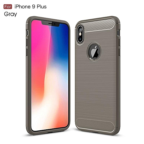 new product ad5ce 5fd96 For iPhoneXs Max Luxury Protection Case Slim Armor Carbon Fiber Soft TPU  Back Case For iPhone Xs Max Phone Cover