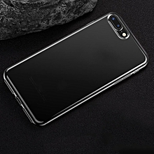 CO Transparrent TPU Shockproof Protective Defender Cover Case for iPhone 7-Transparent