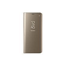 Galaxy S8 Plus Clear View Standing Cover - Gold