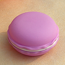 Headphone Mini Earphone SD Card Macarons Bag Storage Box Case Carrying Pouch PP-Purple