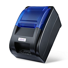 H58 Thermal Printer Receipt Machine - Black