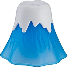Volcano Shaped Microwave Cleaning Tools - Blue & White